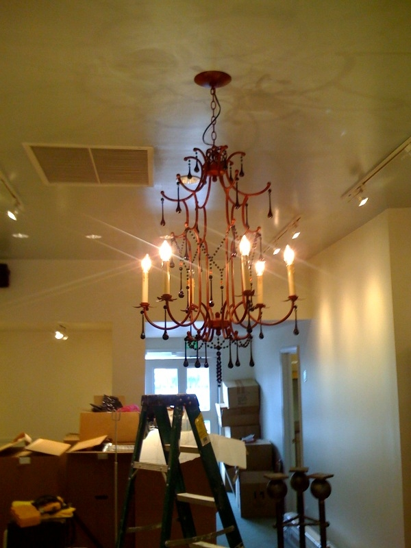 doree chandelier