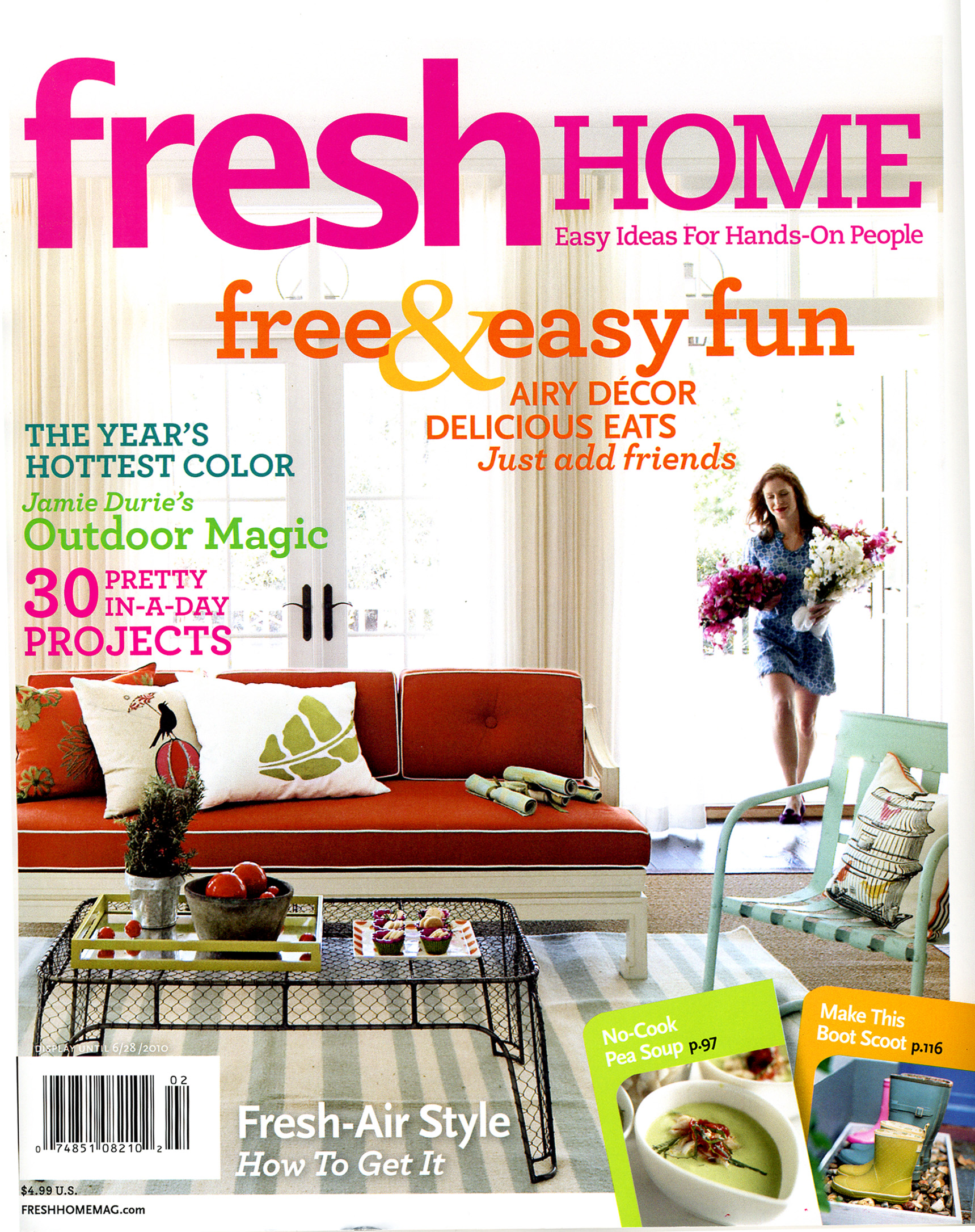 recognize that coffee table on the cover it s from our shop and is