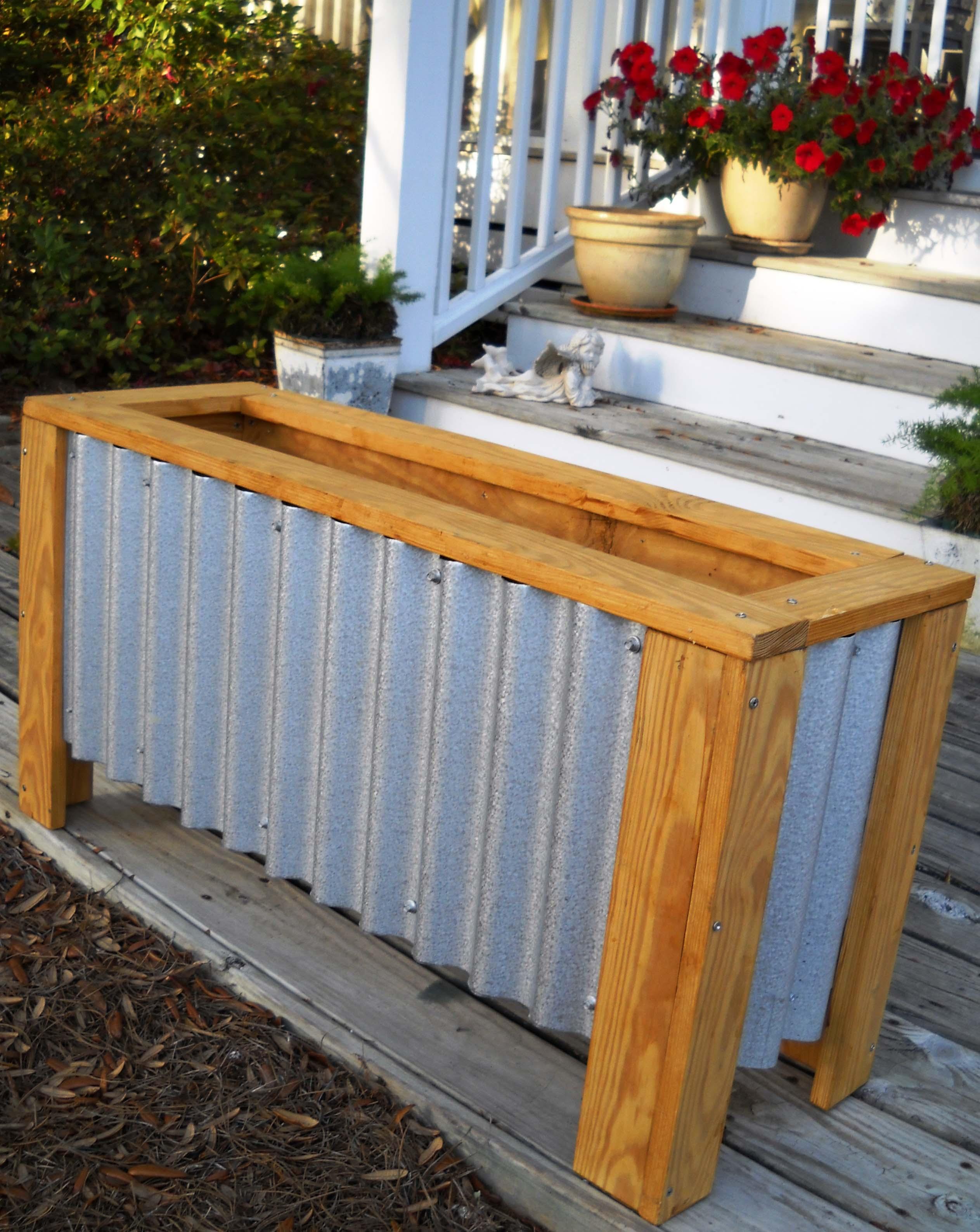 Superbe Garden Box Design With Planter Designs