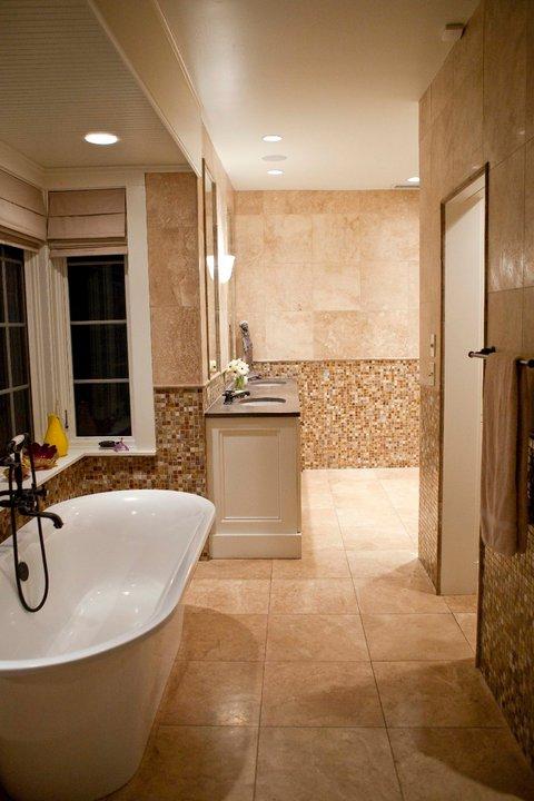 Spanish Revival Bathrooms Tracery Interiors