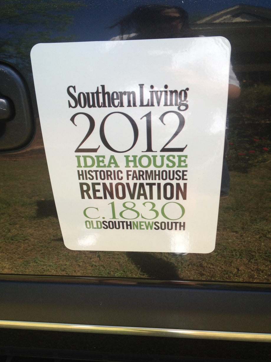 Southern Living Idea House… another update | Our Blog
