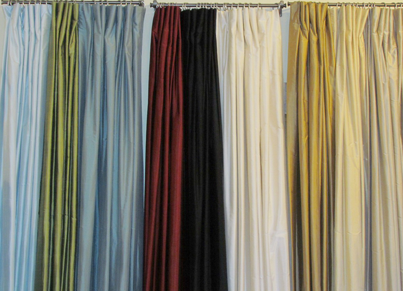 Silk Dupioni Panels From The Curtain Exchange...some Lucky Tracery Blog  Reader Is Going To Win A Pair Of These!