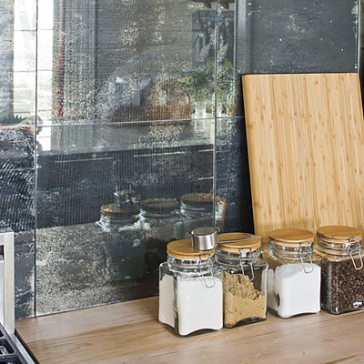 Antique Mirror Backsplash | Our Blog