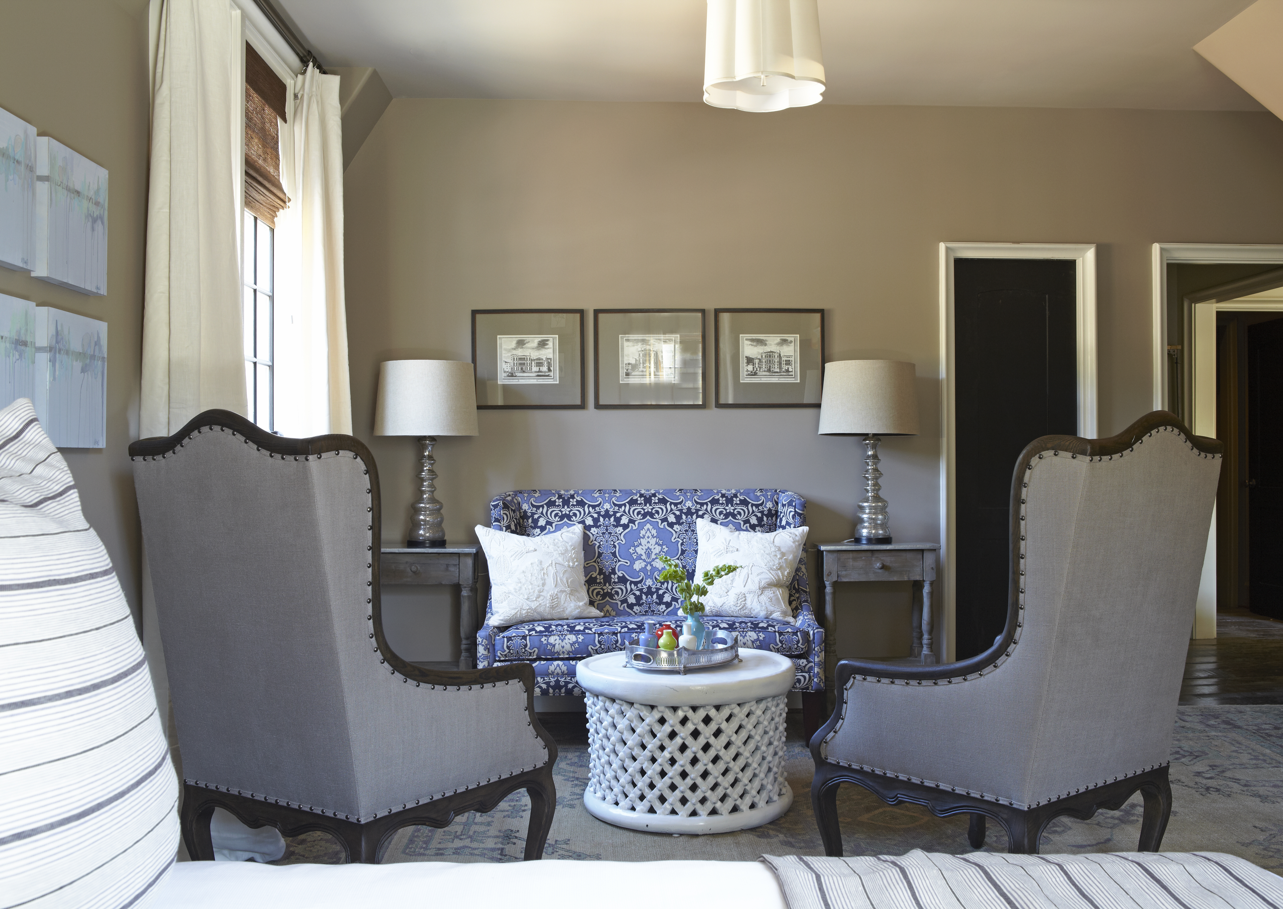 Coordinating Paint Colors City Farmhouse Benjamin Moore Living ...
