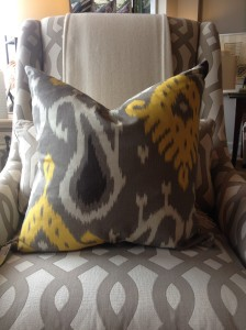 These pillows can be found at our Mountain Brook Shop, only $86 each